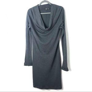 James Perse Supima cotton long sleeve dress R12